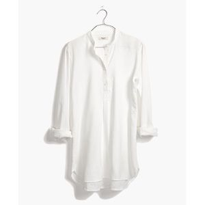 Madewell Wellspring Tunic Popover Shirt Medium